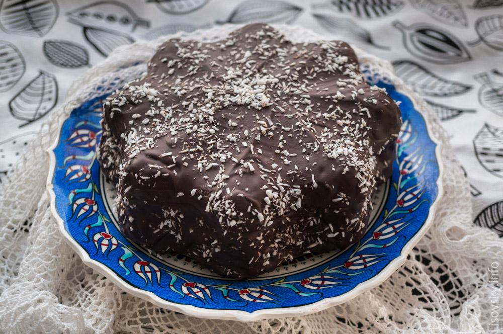 Кокосовый Торт Баунти (рецепт)