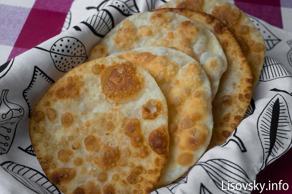 Индийские лепешки Пури (рецепт)