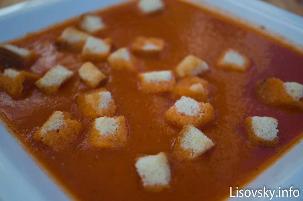Томатный суп-пюре (рецепт)