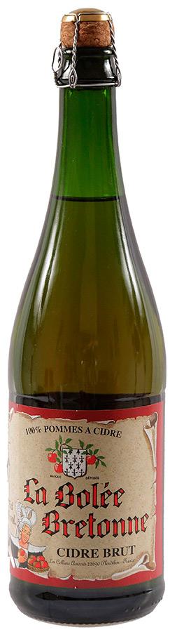 Сидр La Bolee Bretonne Cidre Brut