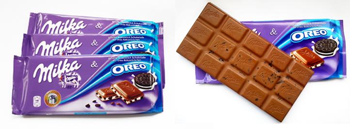 Шоколад Milka & Oreo