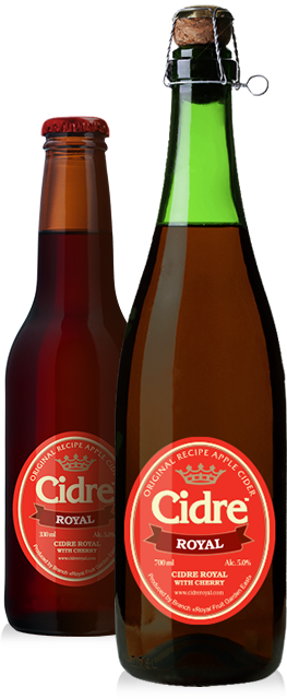 Сидр Cidre Royal with Cherry (с вишней)