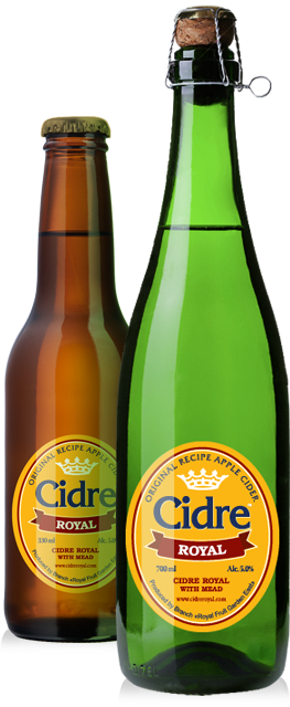 Сидр Cidre Royal with Mead (с медом)