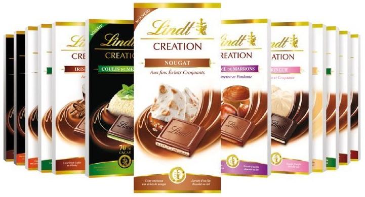 Шоколад Lindt (серия Creation)
