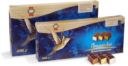 Конфеты Приморский кондитер - Птичье молоко