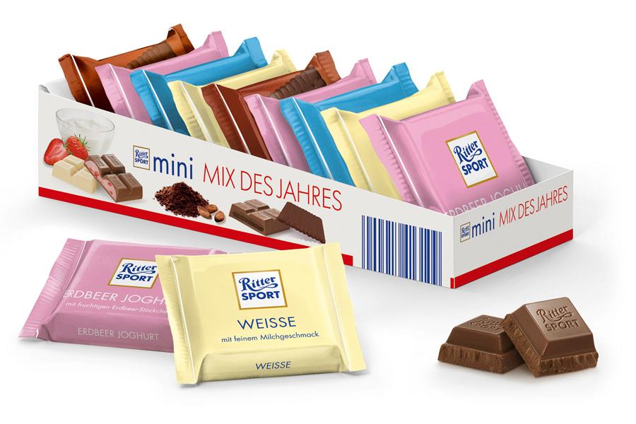 Шоколад Ritter Sport - Mini mix des jahres