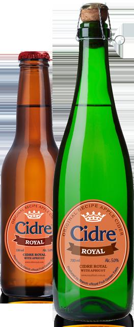 Сидр Cidre Royal with Apricot (с абрикосом)