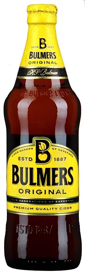 Сидр Bulmers Original (яблочный)