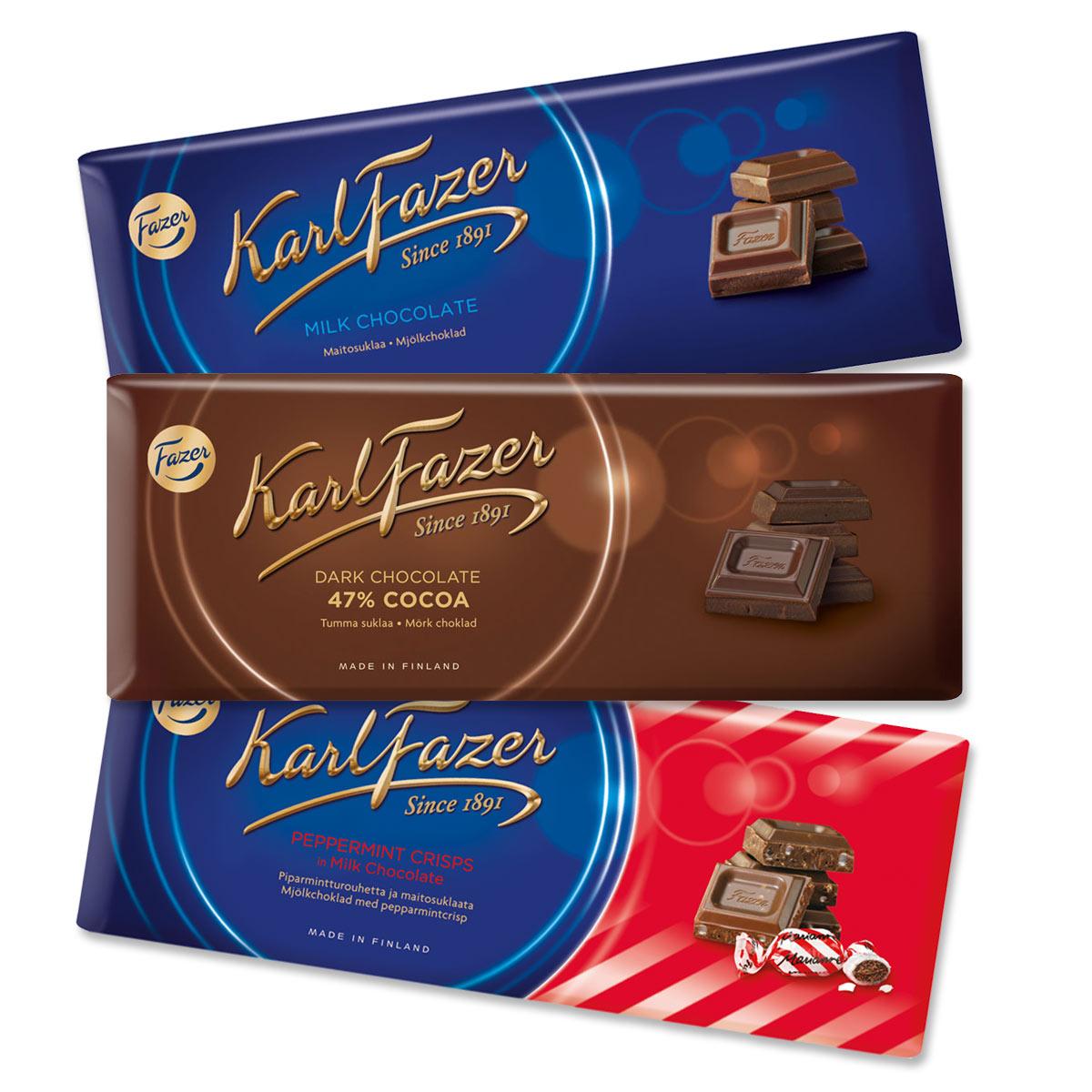 Шоколад Fazer